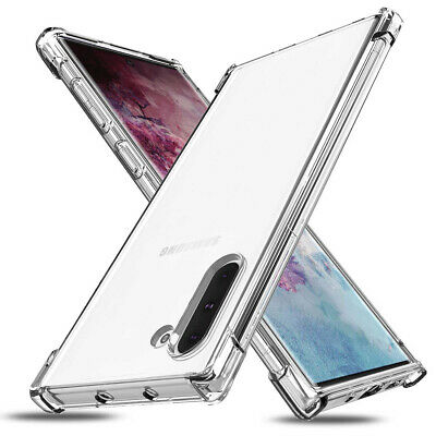 Shockproof Clear Soft TPU Case Cover for Samsung Galaxy Note10 9 8, S10 10+ 9 8
