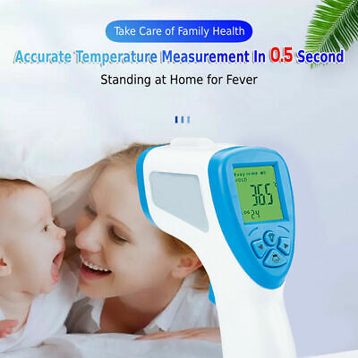 DHL/UPS Forehead Body Infrared Digital Thermometer Gun LCD Digital Non-contact