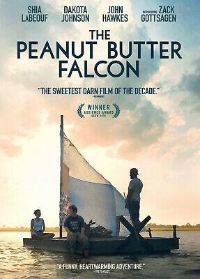 The Peanut Butter Falcon (2019) DVD R0 PAL - Zack Gottsagen, Ann Owens, Comedy