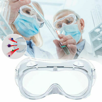 Medical Goggles Safety Glasses Anti Fog Spray Protective Lab Chemical Glasses