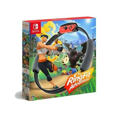 JAPAN Ring Fit Adventure -- Standard Edition Nintendo Switch game 2019 NEW