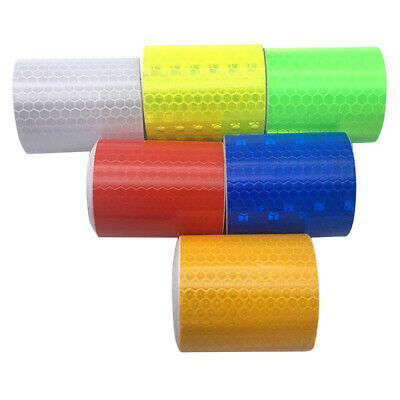 3 m * 5 cm Reflective Strips Auto Stickers Cars Safety Warning Mark Tapes