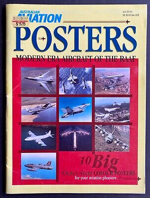 Australian Aviation Modern Era Aircraft of the RAAF Posters Magazine