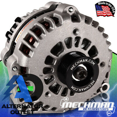 Mechman 240 Amp High Output Alternator 1996-2004 GM Truck 4.3L 4.8L 5.3L 5.7L 6L