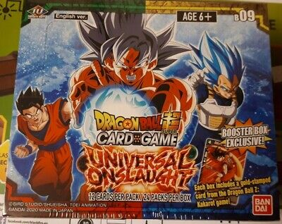 Dragon Ball Super Trading Card Game Universal Onslaught Booster Box Series 9