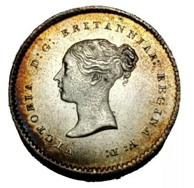 1866 Great Britain twopence Maundy Gorgeous Coin!