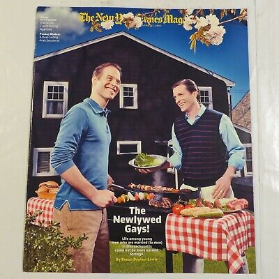 The New York Times Magazine April 2008 Newlywed Gays Daily Life S1