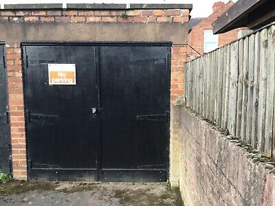 Wrexham, North Wales. Freehold Lock up Garage For Sale