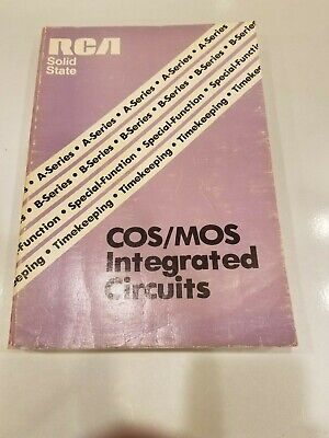 RCA COS/MOS Integrated Circuits Data Book 1970's