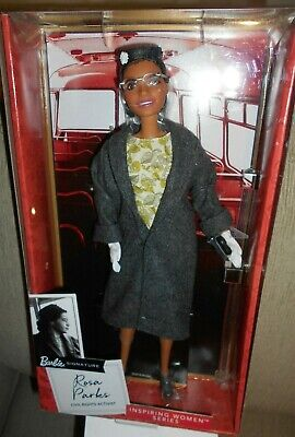 Barbie Signature ...Rosa Parks, Civil Rights Activist....nrfb