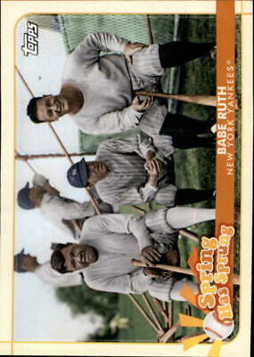 2020 Topps Opening Day - Spring Has Sprung Inserts - Pick A Card