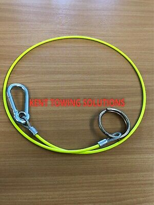 New PVC Breakaway Safety Burst Ring Cable Trailer Horse Box 1M, 3mm Diameter
