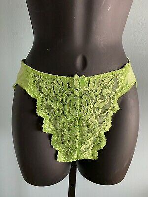 Vintage Victoria's Secret Hipster Panties Satin Second Skin Hi-Cut Sz S USA