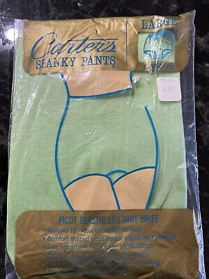 Vintage Carters Spanky Pants NOS Sz Large Band Leg Cuff Brief Panty Girls Teen