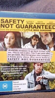 Safety Not Guaranteed - Blu-ray Region B    NEW AND UNSEALED    FREE POSTAGE