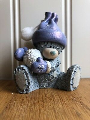 Me To You Tatty Teddy Figurine Ornament Snowball Surprise