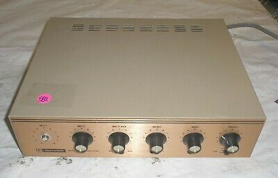 Raymer Model: 800-40 Amplifier