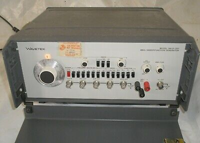 Wavetek Model 188 4 MHz Sweep Function Generator