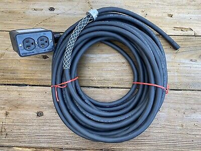 NEW 25/' 6//3 SOOW SO SOO SOW BLACK RUBBER CORD EXTENSION WIRE//CABLE