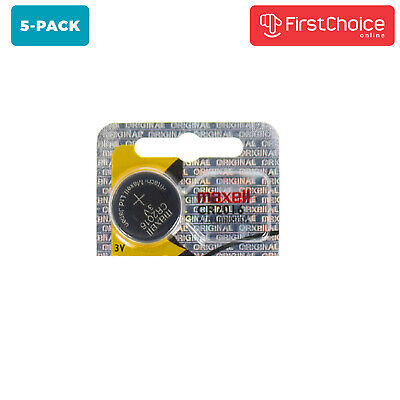5 Maxell cr2016 3v Battery Lithium Replacement BR2016 DL2016 ECR2016