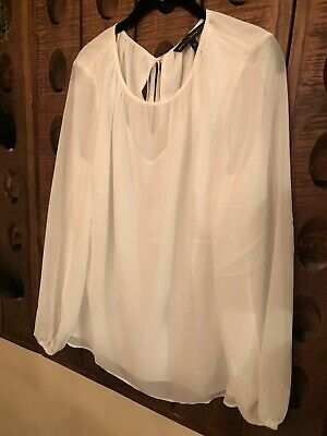 NWOT! White House Black Market Blouse 14
