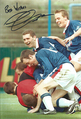 Football Autograph Jimmy Glass Signed 10x8 inch authentic football photo SS882C