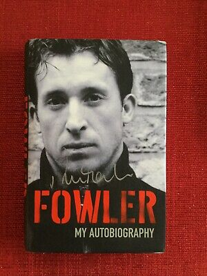 "Genuine Signed Robbie Fowler Autobiography, ""Fowler"""