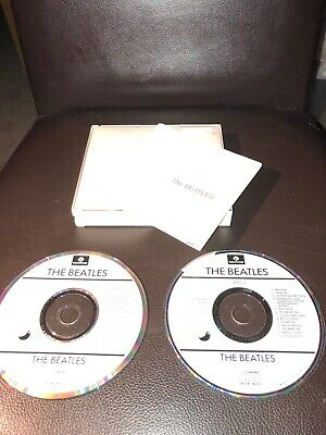 The Beatles - The White Album CD Original Fatbox Issue