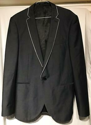 42L Jacket 34R Trousers Taylor & Wright Charcoal Slim Fit Suit
