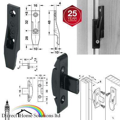 VARIOUS QUANTITIES HOOK ON // DROP ON CLIPS KEKU CLIPS FREE 17mm SCREWS