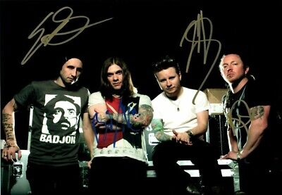 "Shinedown - Hand Signed Autograph Photo 8x12"" - COA"