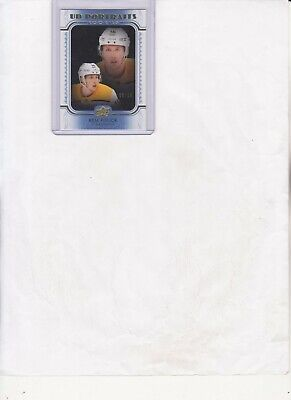 2019/20 UPPER DECK SERIES 2 REM PITLICK UD PORTRAITS BLUE PARALLEL RC #P-81#d/25