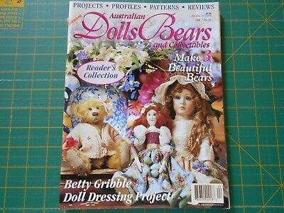 Australian Dolls Bears & Collectables Magazine - Vol 7 No 4 - Good Condition -
