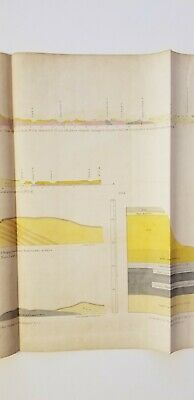2 Geology Maps Owen 1852 Apukwaekan Flag River Falls of St. Anthony Minnesota