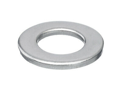 10x Plain washer DIN 125-1A Stainless steel A2 140 HV M50
