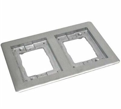 Wiremold 828TCAL 2-Gang, Cover Plate Flange