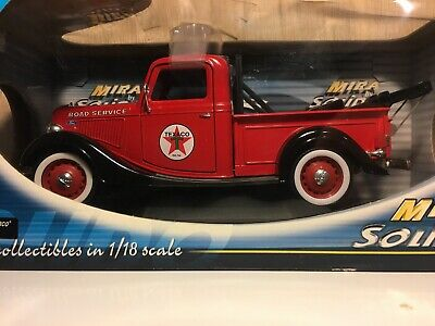 FORD Texaco Road Service *Tow Truck* Mira by Solido Die Cast Metal 1:18 Scale