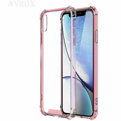 For iPhone 6 6s 7 8 Plus XR XS MAX Case Shockproof 360 Bumper Hybrid Phone Cover