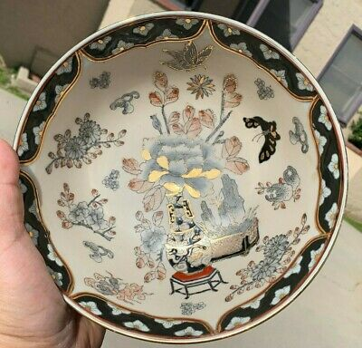 Chinese Antique Vintage Porcelain Famille Rose Bowl With Marked