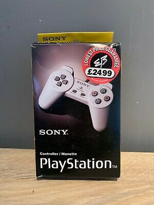 Sony Playstation 1 - PS1 official Controller Joypad Grey SCPH-1080 BOX ONLY