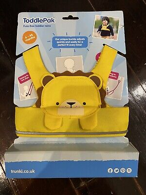 Trunki ToddlePak Toddler Harness Reins - Lion