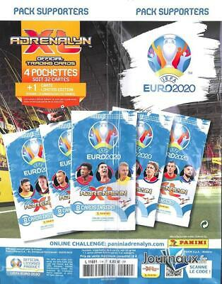 Pack Supporters Collection Collector Euro 2020 Panini