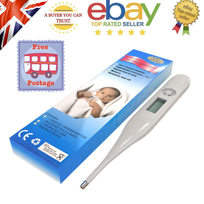 Kid Baby Digital LCD Thermometer Medical Adult Body Health Ear Mouth Temperature