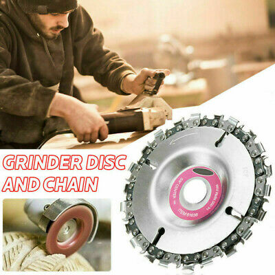 Angle Disc Chain Wheel Angle Grinder Discs Circular Cutting Wood Carving 16/22MM