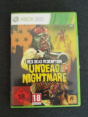 Red Dead Redemption: Undead Nightmare (Microsoft Xbox 360, 2010, DVD-Box)