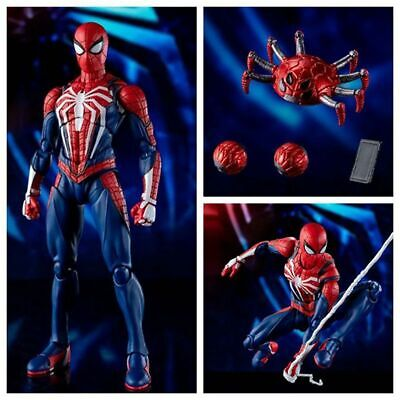 Avengers Super Hero PS4 Game Spider-Man Advanced Costume  Cartoon Toy Figure Act