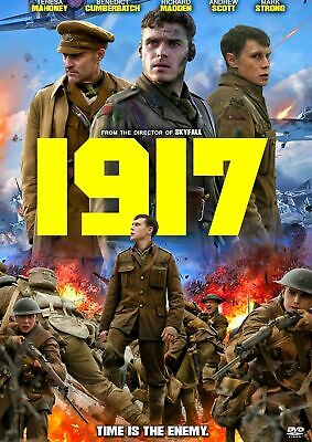 1917 Blu-Ray Only+Case + Artwork+Slipcover (No Dvd Or Digital Code)