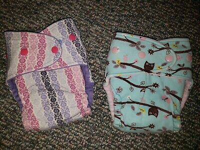 Orange Diaper Co OS fitted cloth diapers