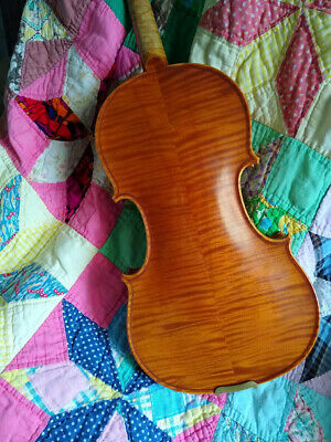 Very Nice Violin With A French Look