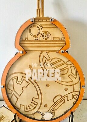 Star Wars BB-8 Inspired Personalised Alternative Wedding Guest Book Sign-in